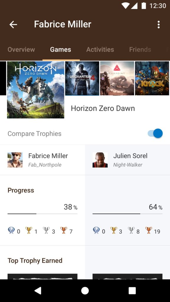 PlayStation App_05_Android_GameList