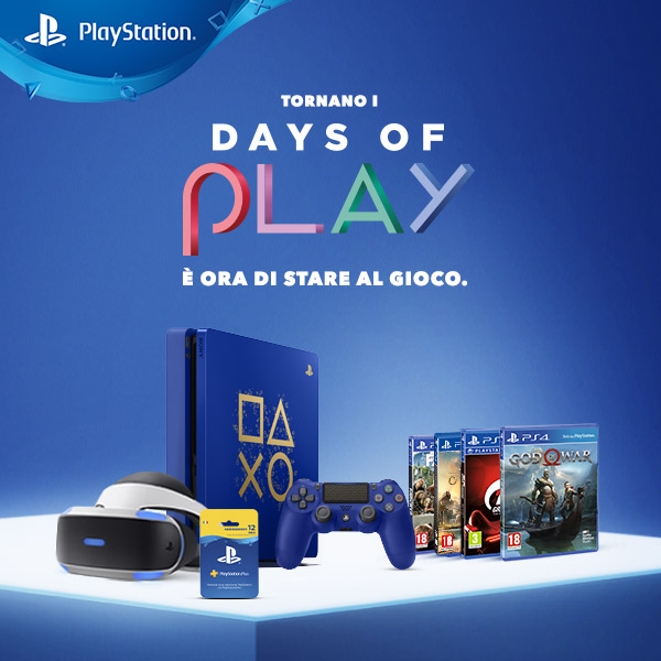 Tornano i Days of Play di Sony Interactive Entertainment