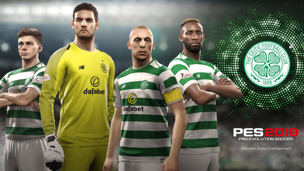 PES 2019_Celtic_Players