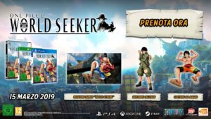 ONE PIECE WORLD SEEKER special edition