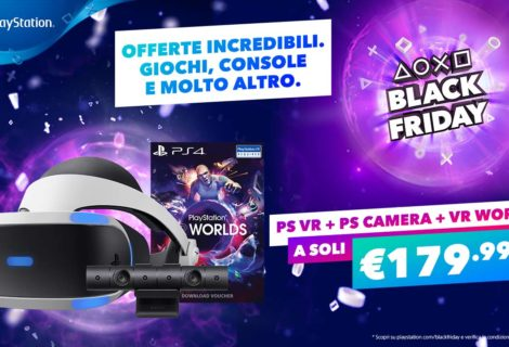 Black Friday Playstation, presentate le offerte per PS4 e PS VR