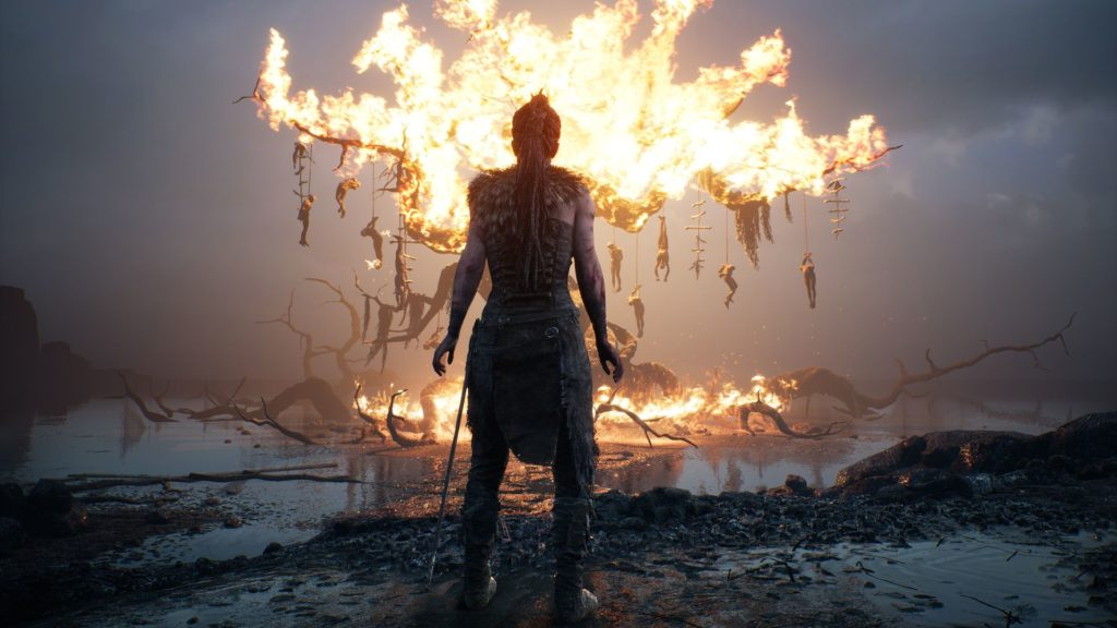 Hellblade- Senua's Sacrifice è disponibile per PS4