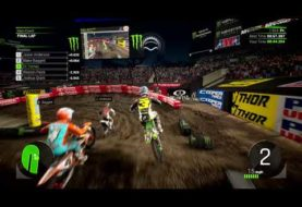 Monster Energy Supercross - The Official Videogame 2 si mostra in un gameplay