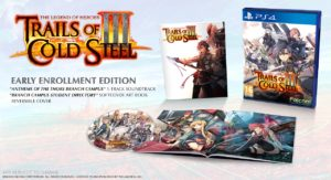 The Legend of Heroes: Trails of Cold Steel III arriverà su PS4