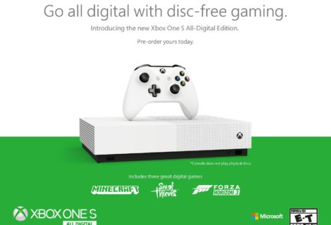 Sbarca sul mercato italiano la Xbox One S All-Digital Edition