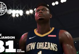 NBA 2K20 in partnership con la prima scelta di questo NBA Draft Zion Williamson