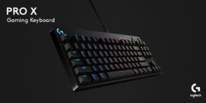 Logitech G presenta la nuova tastiera Pro X Mechanical Gaming Keyboard