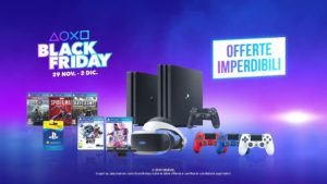PlayStation, tante promozioni per il Black Friday e Cyber Monday
