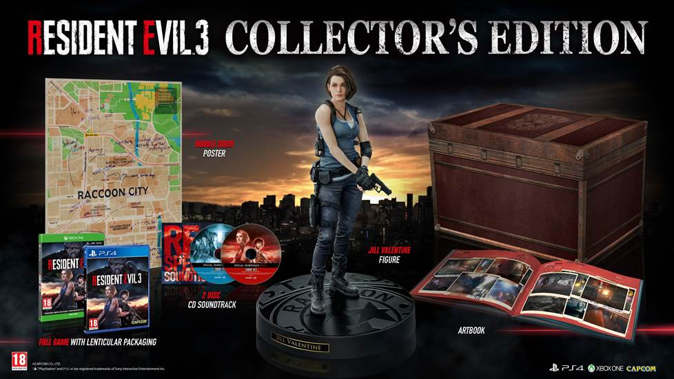 Collector's Edition di Resident Evil 3