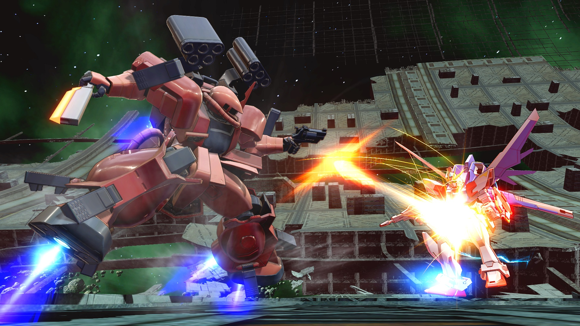 L'Open Access Beta di MOBILE SUIT GUNDAM EXTREME VS. MAXIBOOST ON inizia domani!