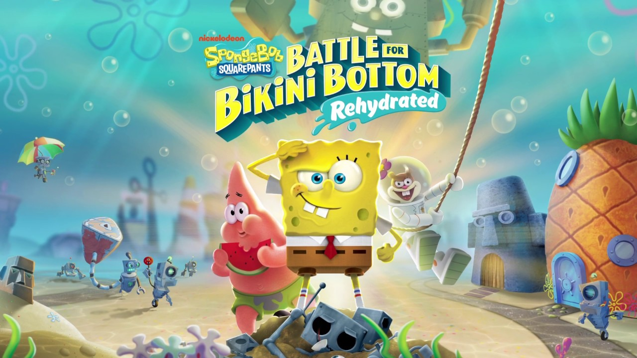 SpongeBob SquarePants: Battle for Bikini Bottom – Rehydrated è ora disponibile!