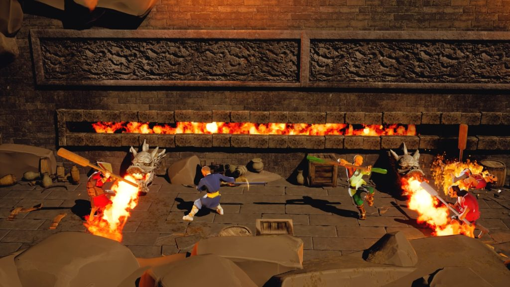 9 Monkeys of Shaolin, il ritorno dei beat-em up a scorrimento