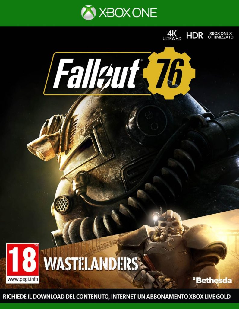 Fallout 76 Wastelanders cover Xbox One