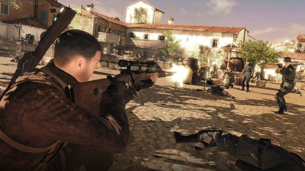 Sniper Elite 4 Nintendo Switch_4