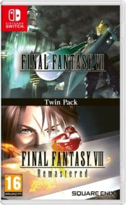 twin-pack Final Fantasy VII e Final Fantasy VIII Remastered Nintendo Switch_1