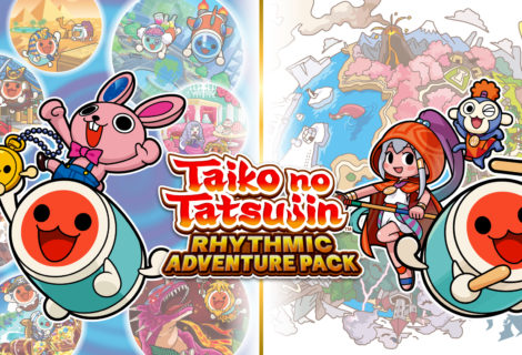 TAIKO NO TATSUJIN: RYTHMIC ADVENTURE PACK è disponibile per Nintendo Switch!