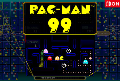 PAC-MAN 99 è ora disponibile per Nintendo Switch!